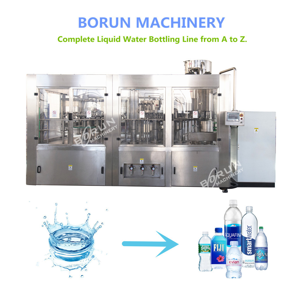 CGF24-24-8 Plastic Bottle Mineral Water Filling Bottling Equipment For Sale