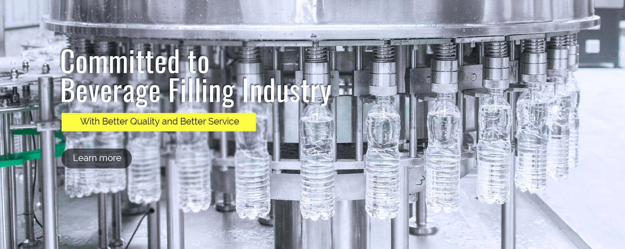 mineral water filling machine supplier